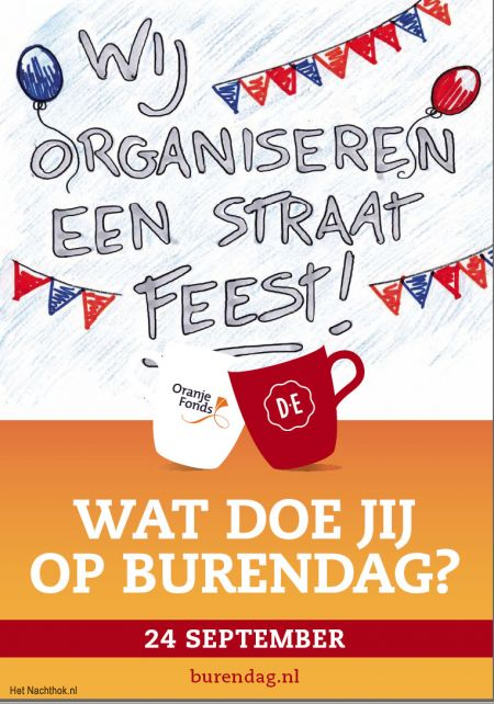straatfeest burendag 2016